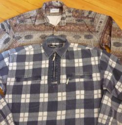 Flannel shirts \\ x.b-NEW, TURKEY