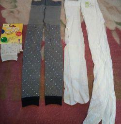 Pantyhose, leggings for 4-6 years