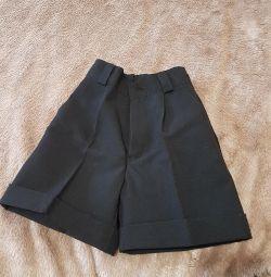 Pantaloni scurți negri clasici