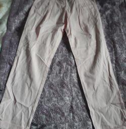 Штани для дівчинки 140 см.