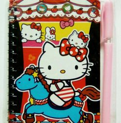 Notebook with mix pen