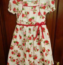 Нарядное платье. Р 122-128