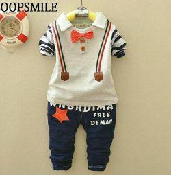 Costum pentru un băiat de 2-3 ani (93,99 cm)
