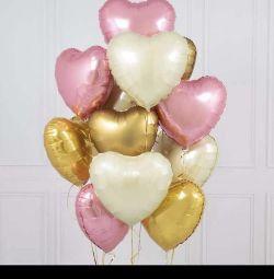 Balloon heart foil