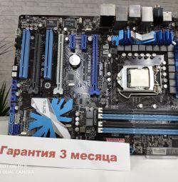 1156 placa de baza Asu P7P550 EVO + i5 661%