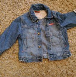 Джинсовые куртка 86 dopodopo