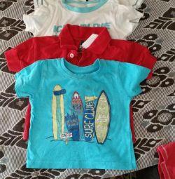 Prețul pentru toate tricourile de la 6 luni la 1 an