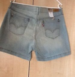 Denim shorts. New ones. P12. American