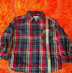 Παιδικό πουκάμισο για ένα αγόρι των ΗΠΑ