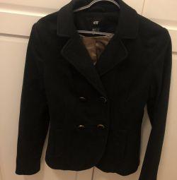Jacket black knit