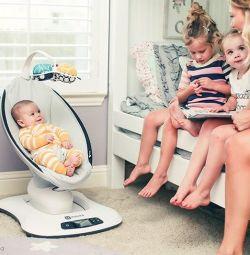 Swing chaise longue τελευταία έκδοση MamaRoo 4.0 4moms