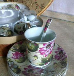 Yeni çay seti