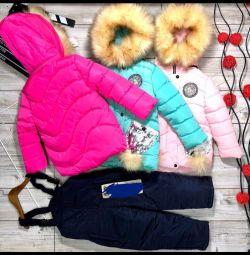 Νέα - όλα τα χρώματα και τα μεγέθη Χειμερινά κοστούμια