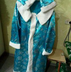 Costum de fată de zăpadă