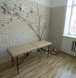 Τραπέζι μασάζ, καναπές καλλυντικών
