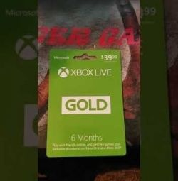 Xbox live gold timp de 6 luni