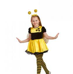 Детский карнавальный костюм Пчeлка