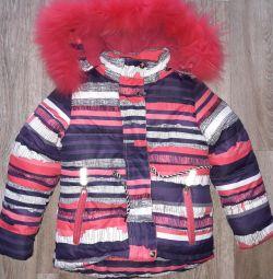 Suit winter height 122 cm.