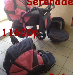 Stroller Teddy Serenade 3 in 1