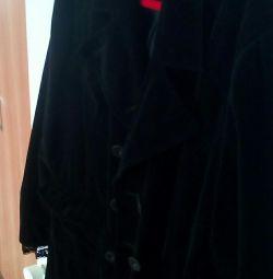 Βελούδινο παλτό μανδύα