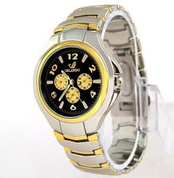 Wrist watch W064, steel