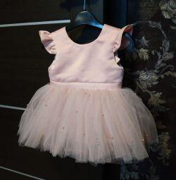 New dress on baby