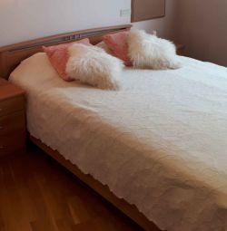 Кровать 160×200 С матрасом Икея и ортопедическим