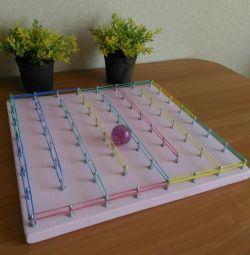 Geobord-maze τ