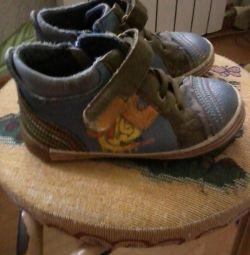 черевички для хлопчика, б / у, 25 р-р