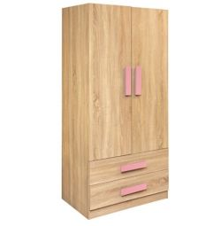 DOUBLE DOUBLE PLAYROOM SONAMA-PINK HM335 + HM336.02