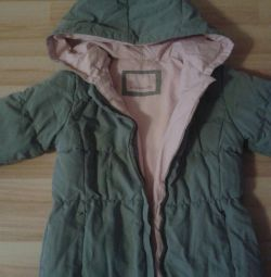 Down jacket for fluff