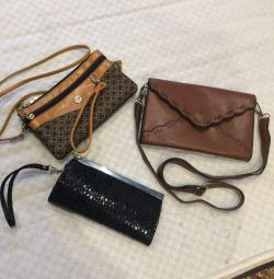Handbags and clutch