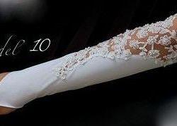 Свадебные перчатки новые