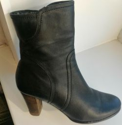 Autumn boots nat leather