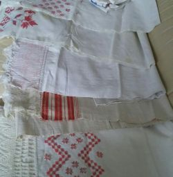 Hand woven towel