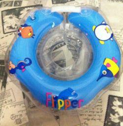 Flipper bathing circle new