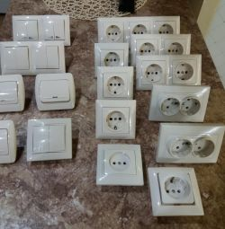 Sockets, switches, cartridges
