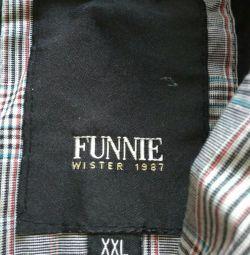 Erkek markası rüzgarlık FUNNIE