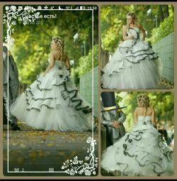 Свадебное платье + болеро + туфли + подарок