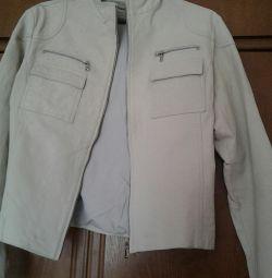Куртка,кожа,46 р