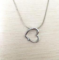 Chain silver + pendant SUNLIGHT