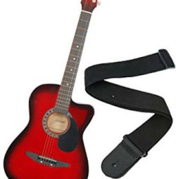 Guitar with belt