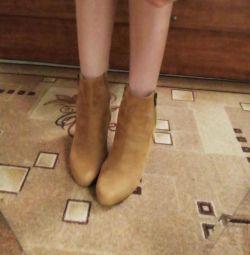 Μισό μπότες νέα + τσάντα ως δώρο