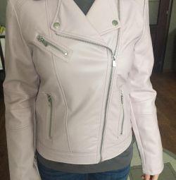 Куртка из экокожи фирмы Mango новая