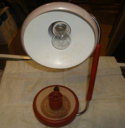 lampă de masă metal rotativ