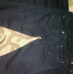 Новые черные джинсы