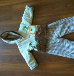 Overalls for a boy or girl