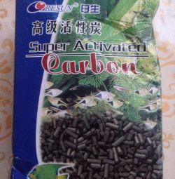 Akvaryum Resun kimyasal temizlik için kömür