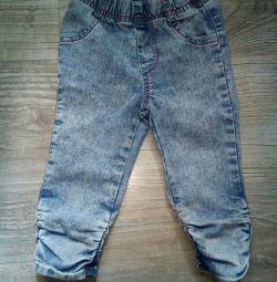 Capri kot pantolonu p. 4-5L.