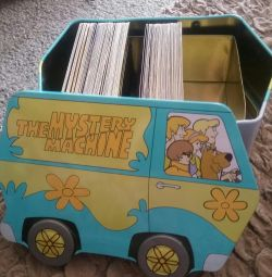 Cards and chest Scooby Doo